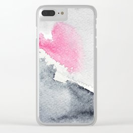Diffusion    watercolor Clear iPhone Case