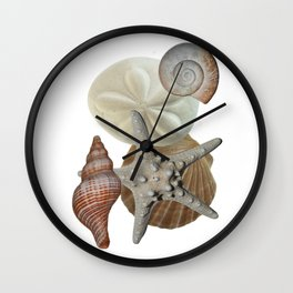 Beach Bounty Wall Clock