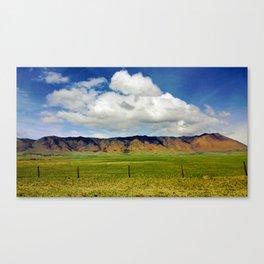 Mountain High Canvas Print