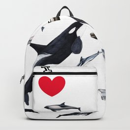 I love dolphins Backpack