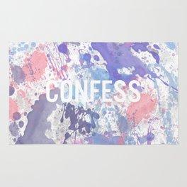 Confess - inverted Rug