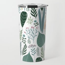 Early Spring Thaw In The Flower Garden Pattern Travel Mug