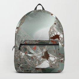 Tangled in the fractal mist Backpack