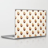 apple Laptop & iPad Skins featuring Apple by Nikita