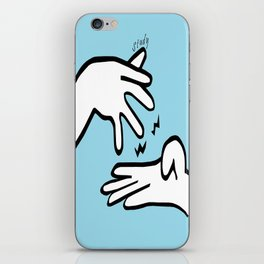 ASL Study iPhone Skin