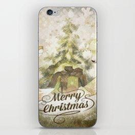 Christmas Tale iPhone Skin