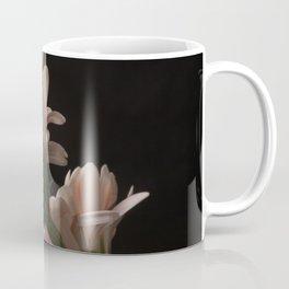 Exotic Pink on Black Gerbera Daisy Petals Coffee Mug