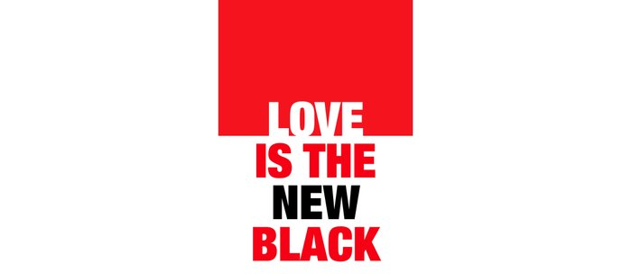 LOVE is the new black IV – Plain Coffee Mug