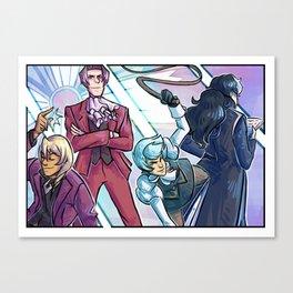 ace attorney- prosecutors Canvas Print