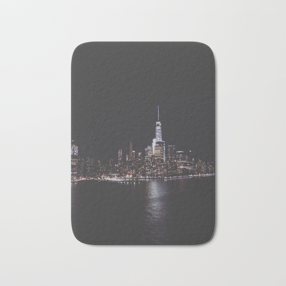 Welcome To New York Bath Mat by Phantasiafawn BMT8868879
