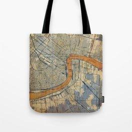 06-New Orleans Louisiana 1932 Tote Bag