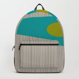 Abstract Mid-Century Backpack