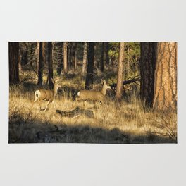 Deer on the Run Rug