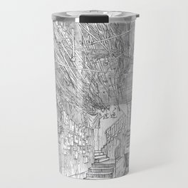 Kowloon walled city. Hong Kong Travel Mug
