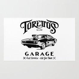 Toretto Garge Dom Rug