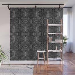 zakiaz blk&gray abstract design Wall Mural
