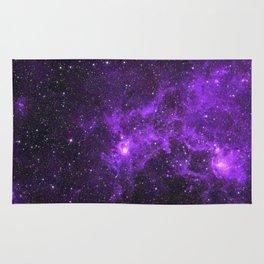Ultraviolet Space Nebula Rug