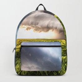 Leoti's Masterpiece - Incredible Storm in Western Kansas Backpack