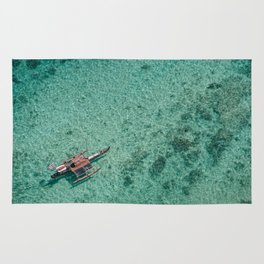 Outrigger in Hawaii Rug