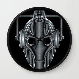 Doctor Who Cyberman Silver Wall Clock