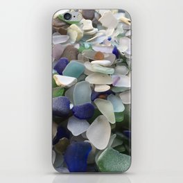 Sea Glass Assortment 5 iPhone Skin