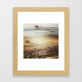 Beach Scenes Framed Art Print