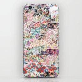 Chula Vista map iPhone Skin