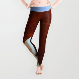 At The End Of The Trail - Pine Tree Arch Leggings