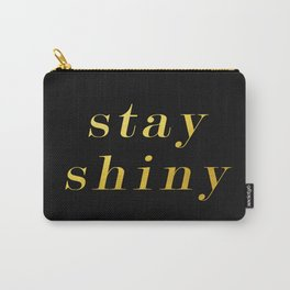 Stay Shiny Carry-All Pouch
