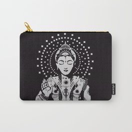 Buddha in lotus position Carry-All Pouch