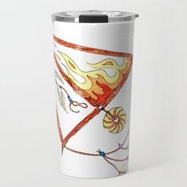 FIRE SAGITARIUS Travel Mug