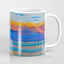 I'd Rather Be Sailing by Teresa Thompson Coffee Mug