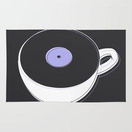 Vinyl Coffee Rug