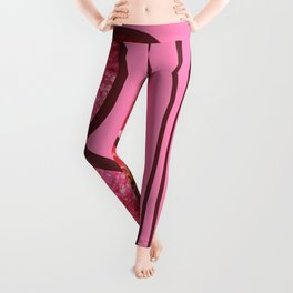 Pink Bloom Leggings