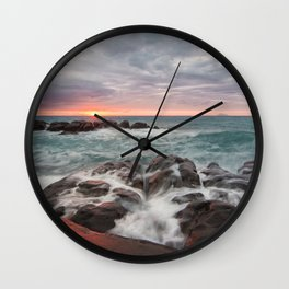 Scenery of Sicily Wall Clock