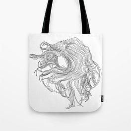 Howling Mane Tote Bag