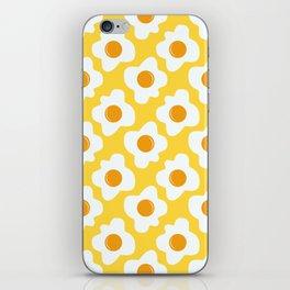 Scrambled eggs iPhone Skin