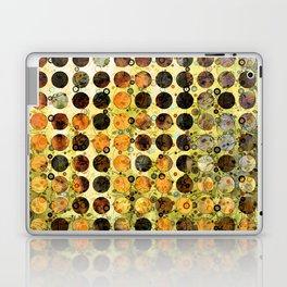 MELANGE OF YELLOW OCKER and BROWN Laptop & iPad Skin