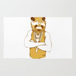 Bear - Panda - You're a Beast Rug