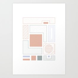 Quite Basic #3 Art Print