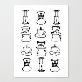 Chemex Coffee Canvas Prints