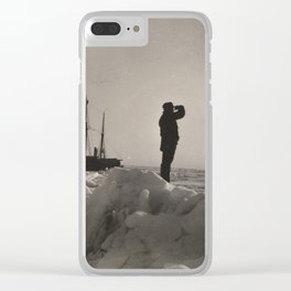 Nansen's Fram North Pole Expedition Clear iPhone Case