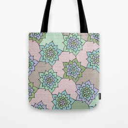 zakiaz lotus design Tote Bag