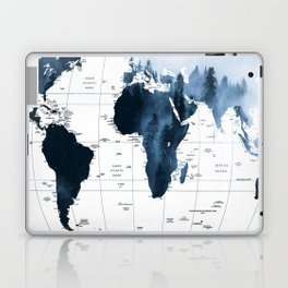 ALLOVER THE WORLD-Woods fog map Laptop & iPad Skin