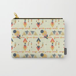 Geo Shapes Bauhaus Carry-All Pouch