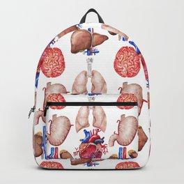 Watercolor organs Backpack