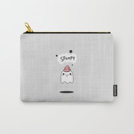 Spoopy Ghost Carry-All Pouch