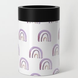 Lilac Lavender Rainbows Can Cooler