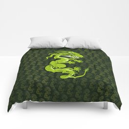 Jade Dragon Comforters