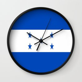 flag honduras,america,latine,spanish,Honduran, Catracho,Mesoamerican,Tegucigalpa,San Pedro,Choloma Wall Clock